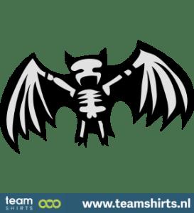 Fledermaus-Skelett