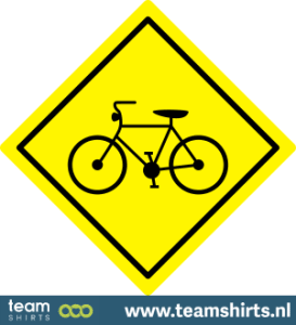 Verkehrszeichen Fahrradspur