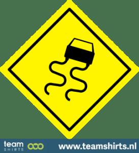 Verkehrsschild Slippery Road