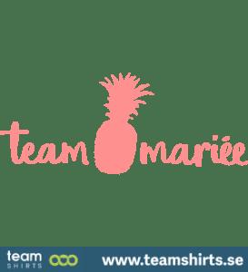 5504 Team Mariee Ananas