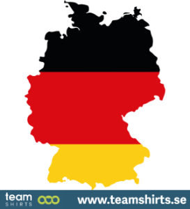 GERMANY SILHOUETTE COLOURED