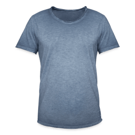 Vintage-T-skjorte for menn