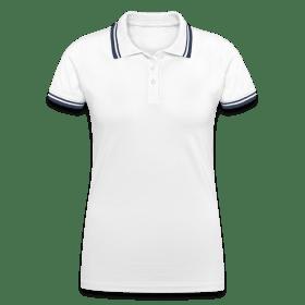 Tipped Poloshirt for kvinner TS