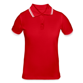 Women's Tipped Polo Shirt TS