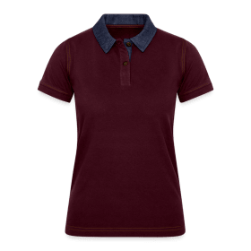 Women's Denim Polo Shirt TS