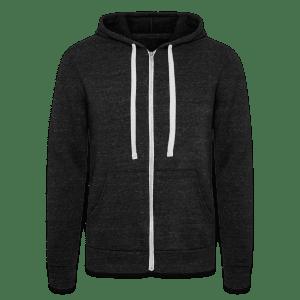 Unisex tri-blend hoodie van Bella + Canvas