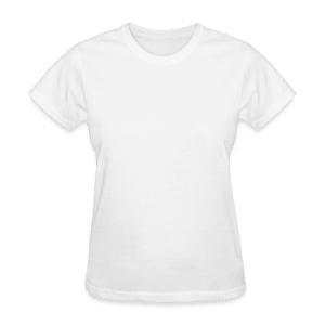 Gildan tung T-shirt dam