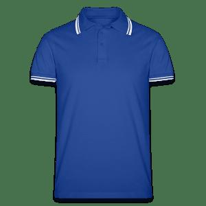 Männer Tipped Poloshirt