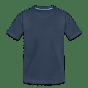 Premium økologisk T-skjorte for tenåringer