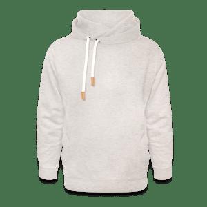 Unisex sjaalkraag hoodie