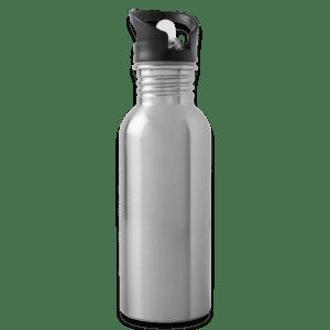 Drikkeflaske med integrert sugerør