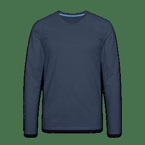 Premium langermet T-skjorte for menn