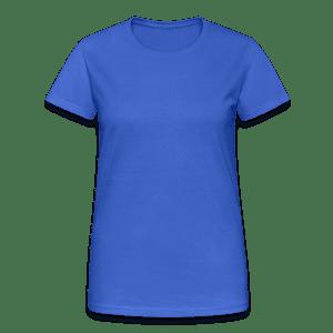 T-shirt Gildan épais femme