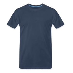 Premium økologisk T-skjorte for menn