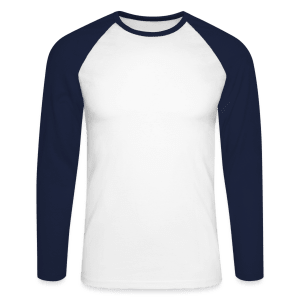 T-shirt baseball manches longues Homme