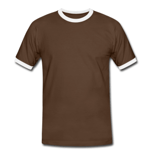 Männer Kontrast T-Shirt