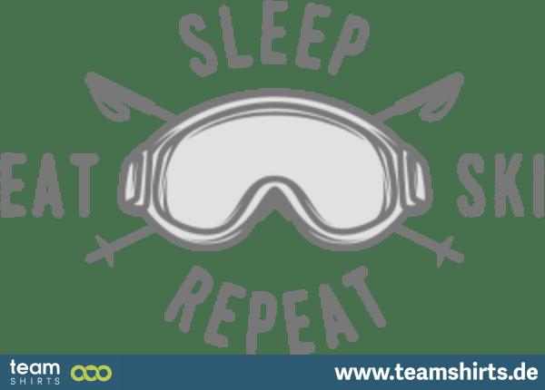EAT SLEEP SKI REPEAT