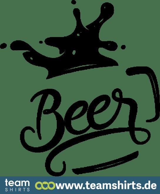 BEER SCHRIFTZUG MIT GLAS