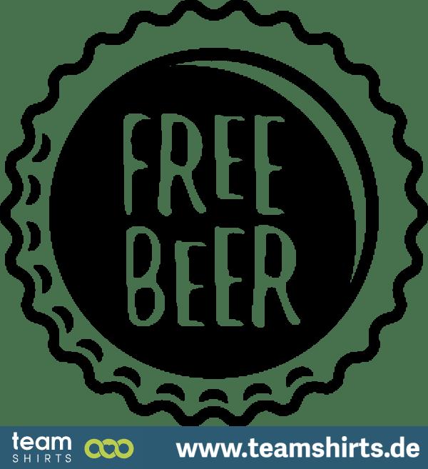 FREE BEER KRONKORKEN