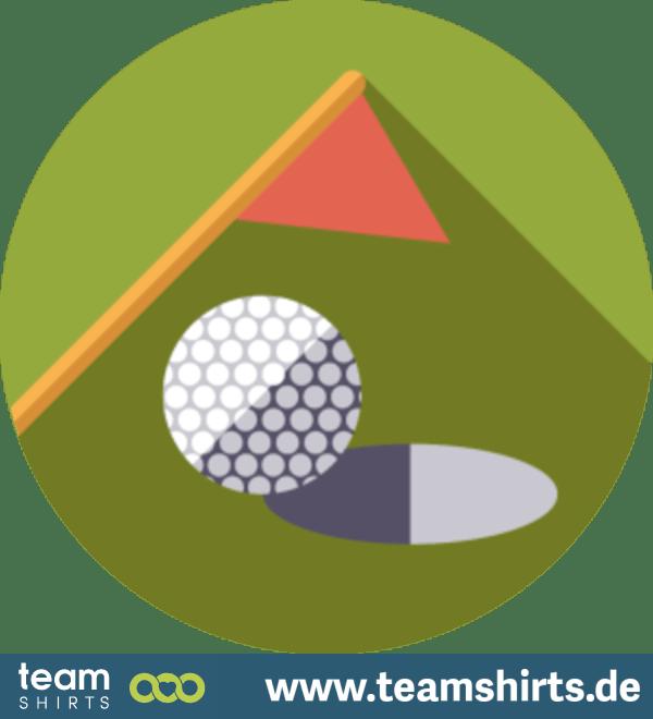 Golf Rasen Emblem