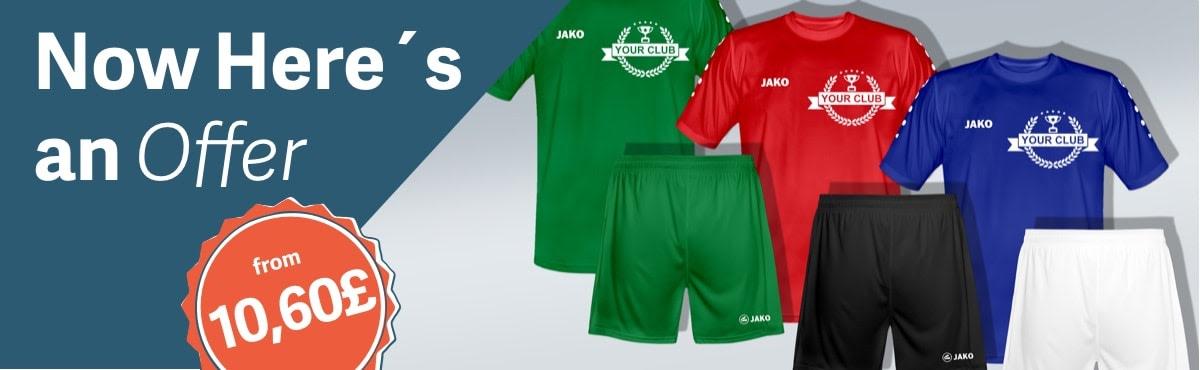 JAKO Football Kit Team