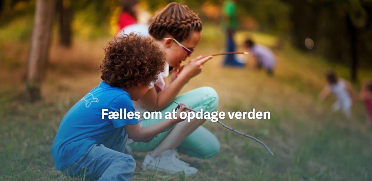 Tilfredhedsgaranti: Børne t-shirt med tryk
