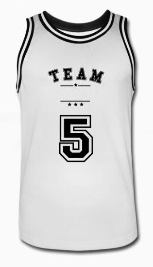 Design basketball drakter