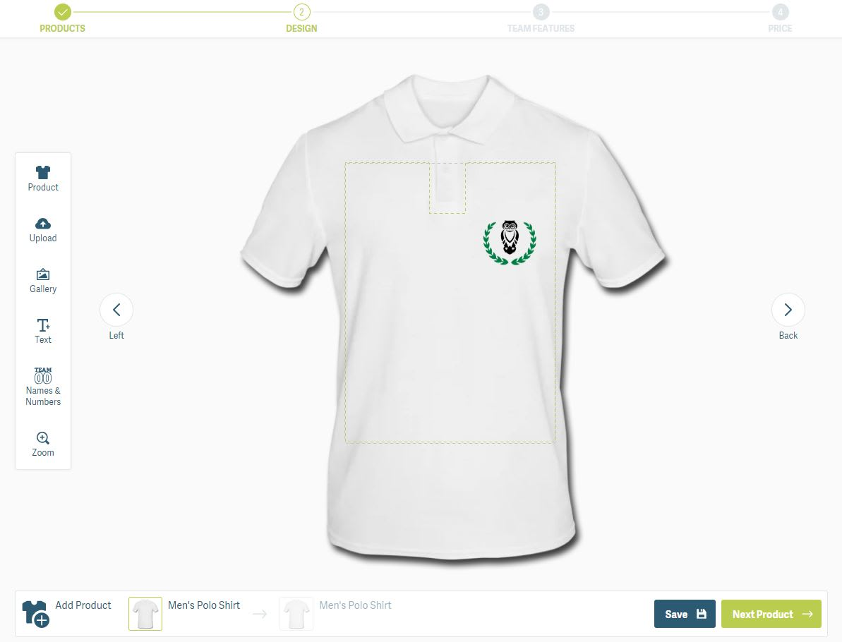 Create your own school shirt
