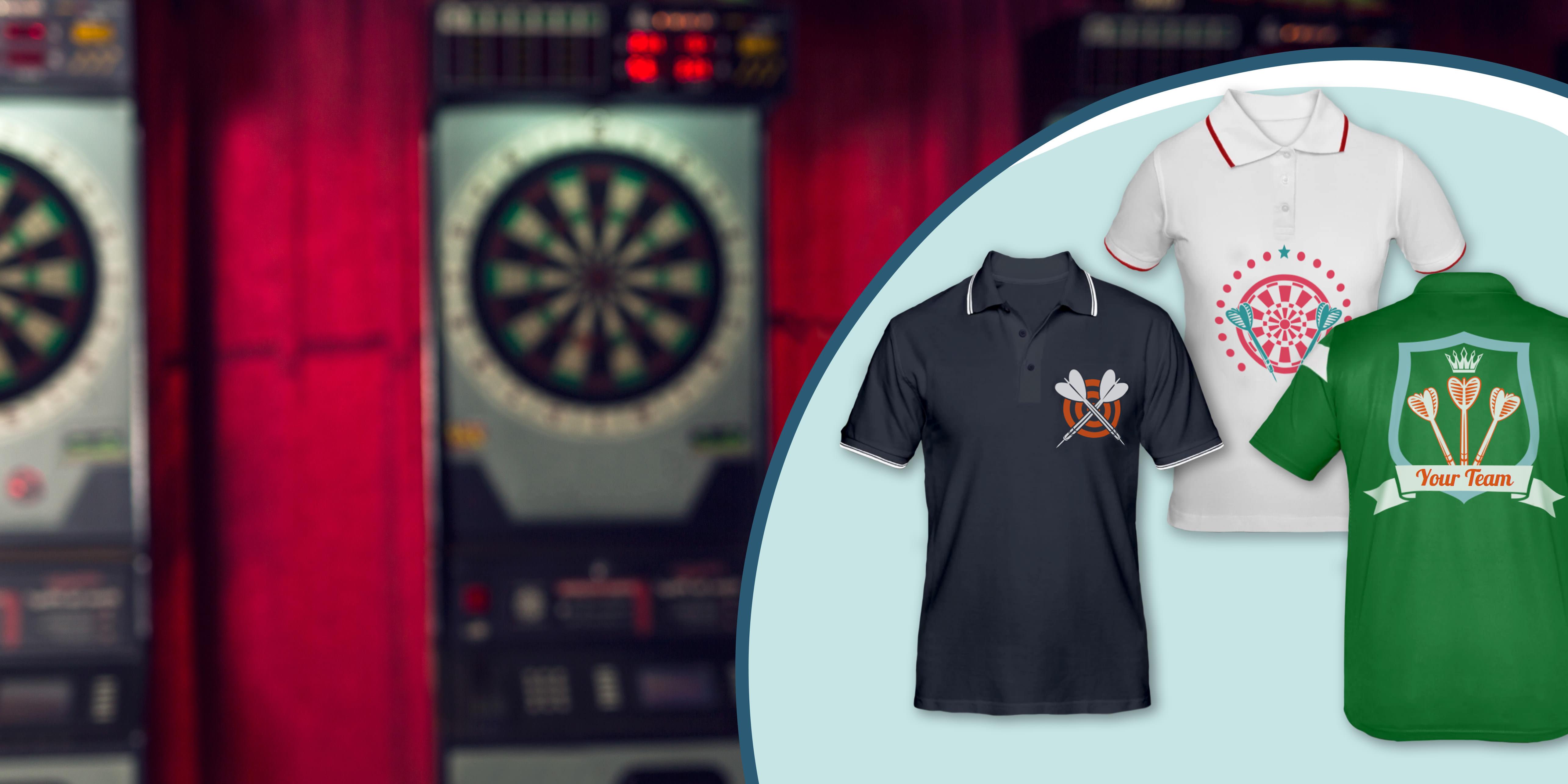 Dart shirts ontwerpen