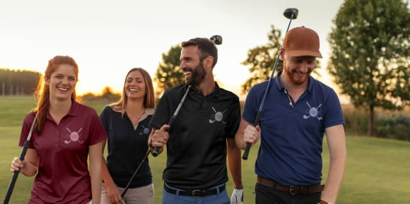 Golfbekleidung gestalten