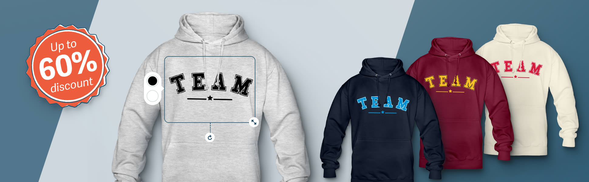 cheap personalised hoodies