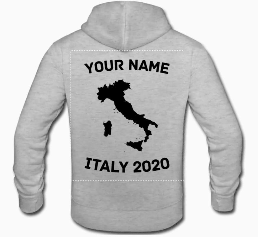 Create class trip hoodies