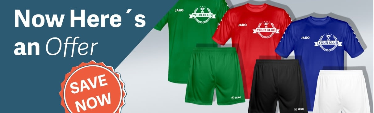 Football Team Kits - Personalised Football Shirts - Printing