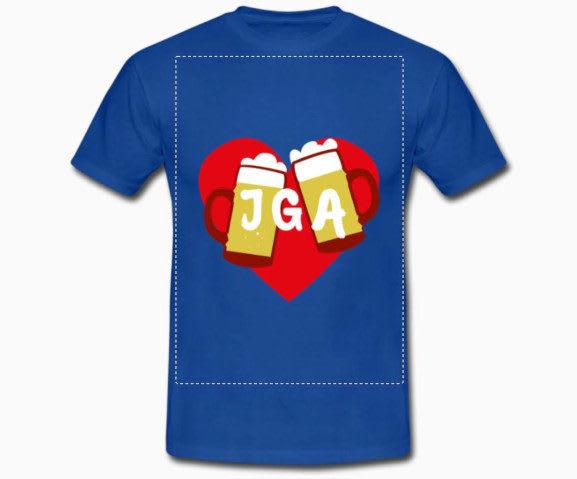 JGA T-Shirts individuell gestalten