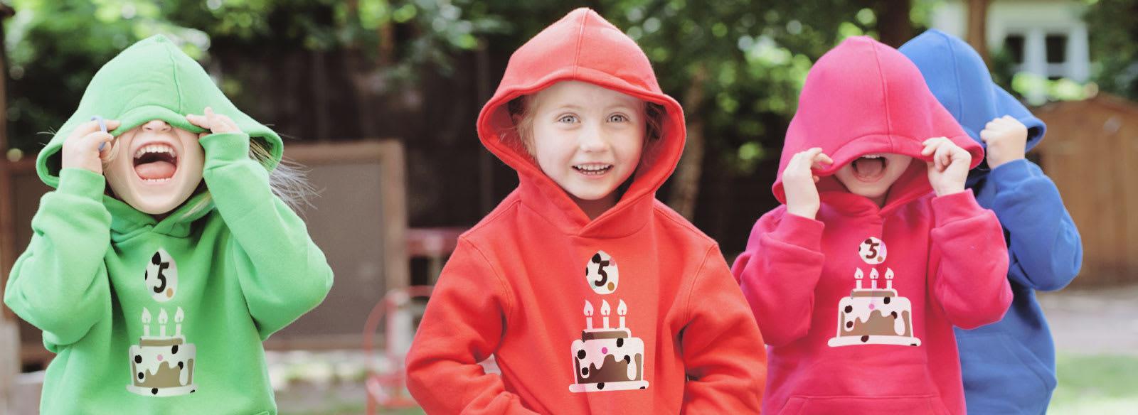 Kinder hoodie ontwerpen