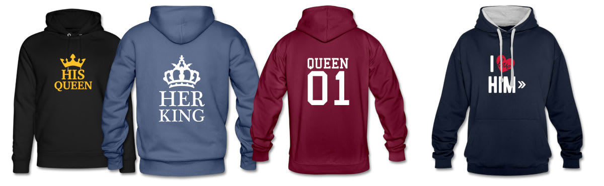 King & Queen Pullover