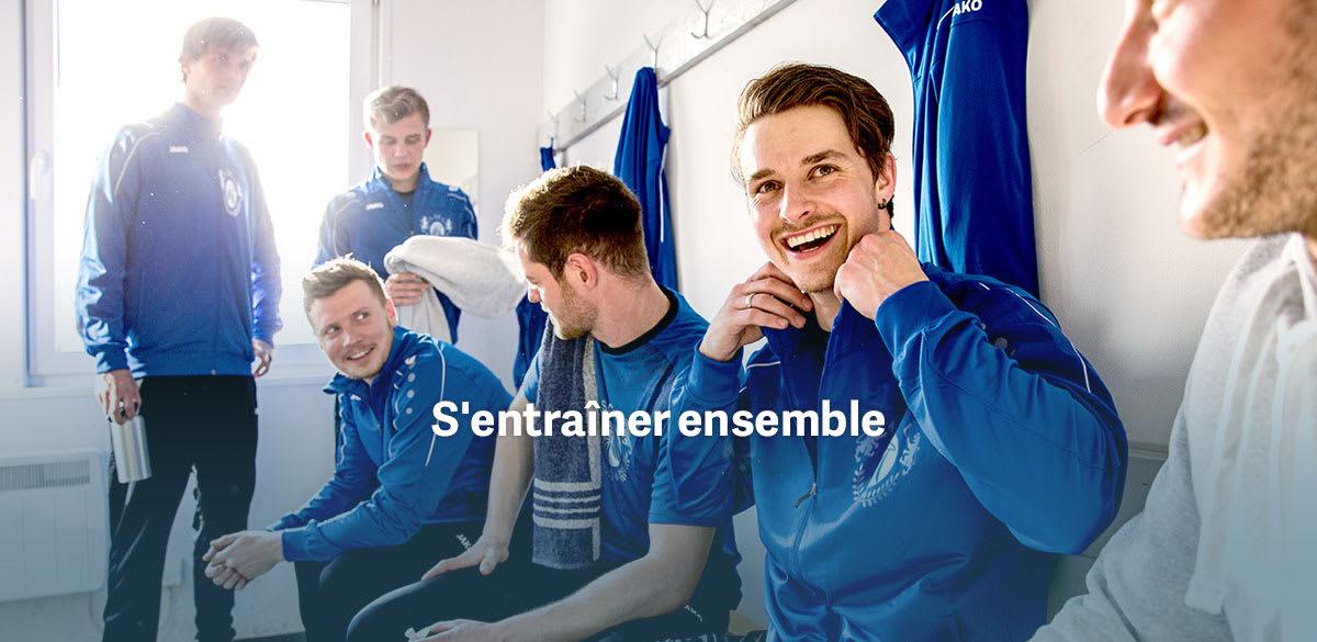 survetement training personnalisé pour club