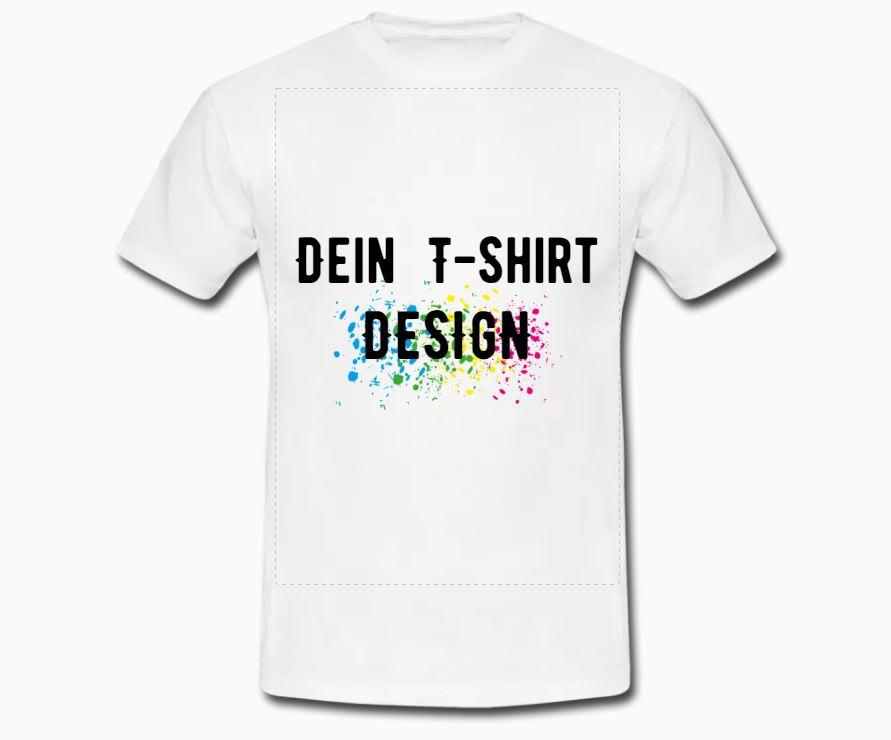 T-Shirts gestalten & bedrucken