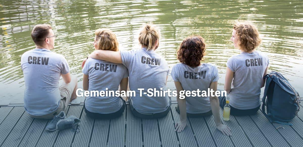 promo code 76459 2277e T-Shirt selbst gestalten - T-Shirt designen | TeamShirts