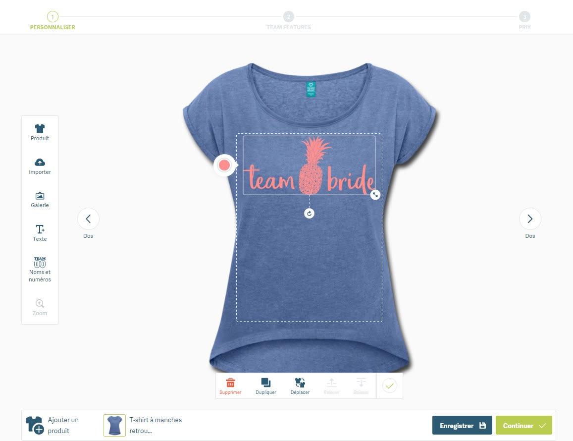 tee-shirt evjf drôle