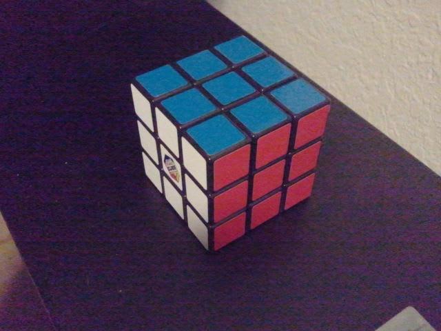 Solved Rubix Cube