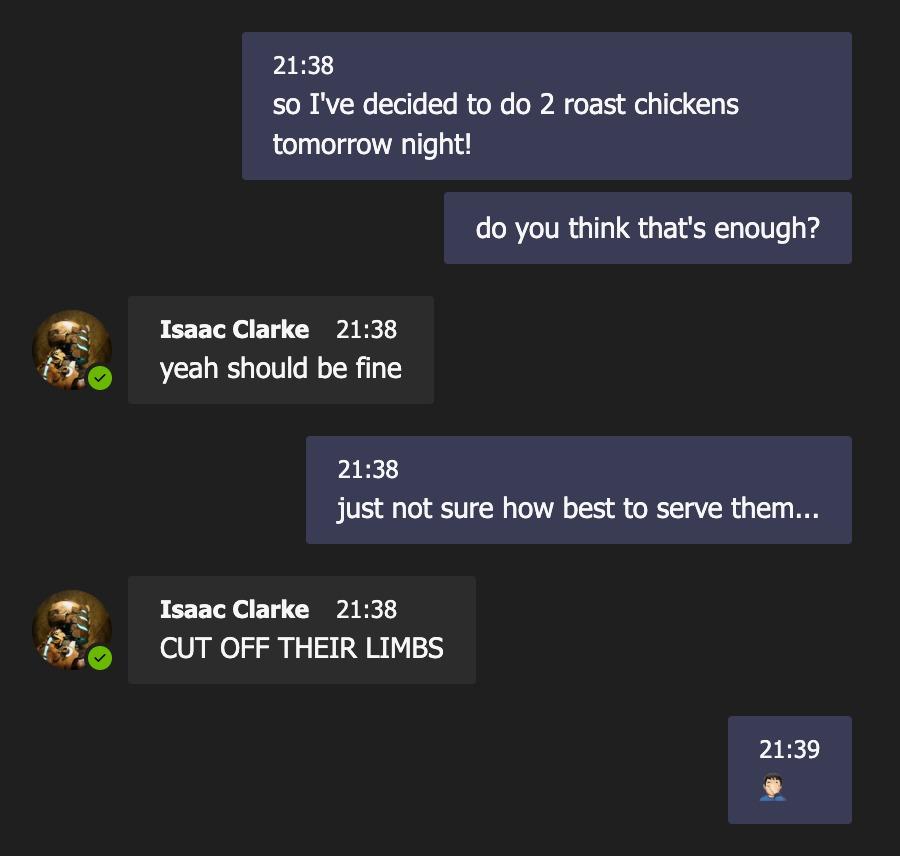 Isaac's Advice