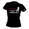 FUSSBALL2GO Fun-Shirt Ballerina Damen