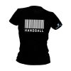 HANDBALL2GO Fun Shirt Barcode Damen
