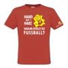 HANDBALL2GO Fun Shirt Hand aufs Harz Kinder