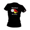 HANDBALL2GO Fun Shirt On Fire Damen