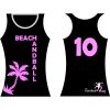 HANDBALL2GO Beach-Shirt Palme Damen