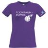 HANDBALL2GO Fun Shirt Rückraumbombe Damen