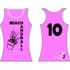 HANDBALL2GO Beach-Shirt Sangria Damen