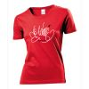 HVW-Handball2go Fun-Shirt Je taime Damen